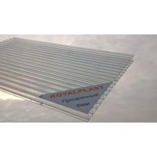 Поликарбонат 6 мм премиум класс 6 метров 20 лет двойная УФ