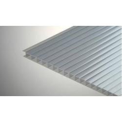 Сотовый поликарбонат 4 мм серебро