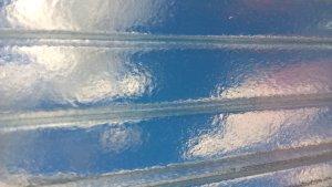 поликарбонат прозрачный колотый лед