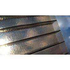 Поликарбонат 8 мм премиум класс бронза Колотый лед