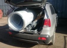 перевозка поликарбоната - самовывоз со склада на легковом авто