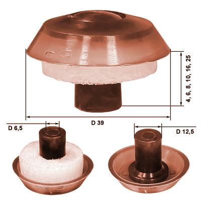 термошайба для поликарбоната размеры